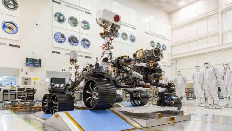 Mars 2020 aracının adı belli oldu