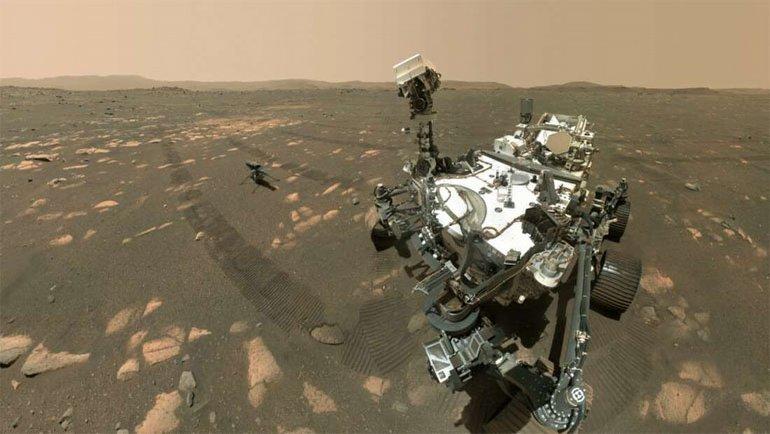 Mars'tan yeni
