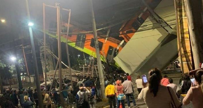 Meksika'da Tren Yolu Çöktü: 13 Ölü, 70 Yaralı
