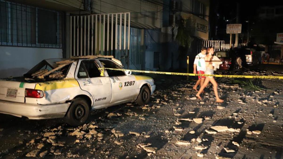 Meksika felaketi yaşıyor! Önce sel ardından deprem yaşandı, bir de tsunami uyarısı yapıldı