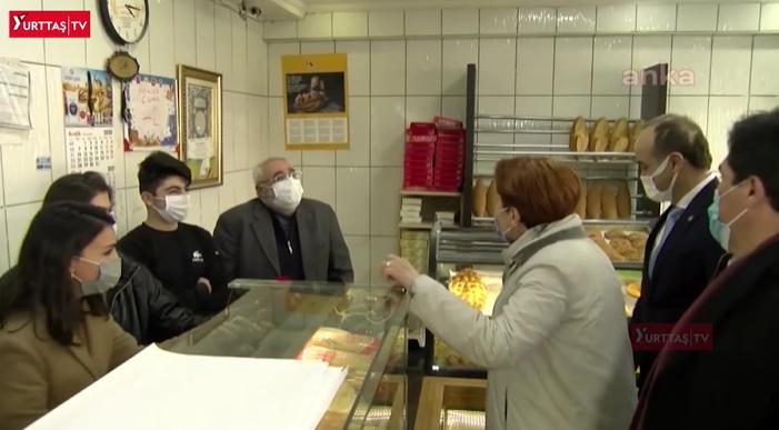 Meral Akşener'in Ziyaret Ettiği Fırıncı İsyan Etti, Lokantacı 'Borçlardan Tezgahımı Sattım' Dedi