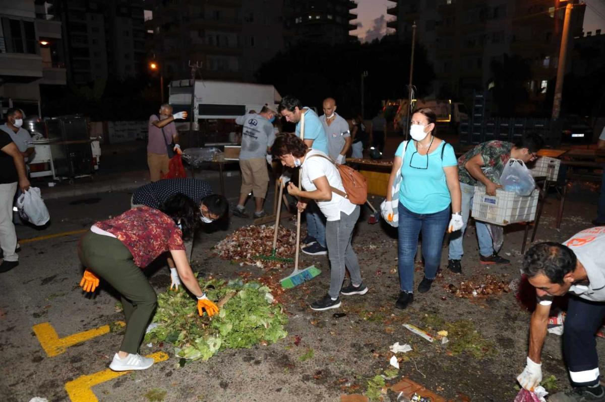 Mezitli Belediyesi ile Pazarcılar Odasından kompost gübre üretiminde işbirliği