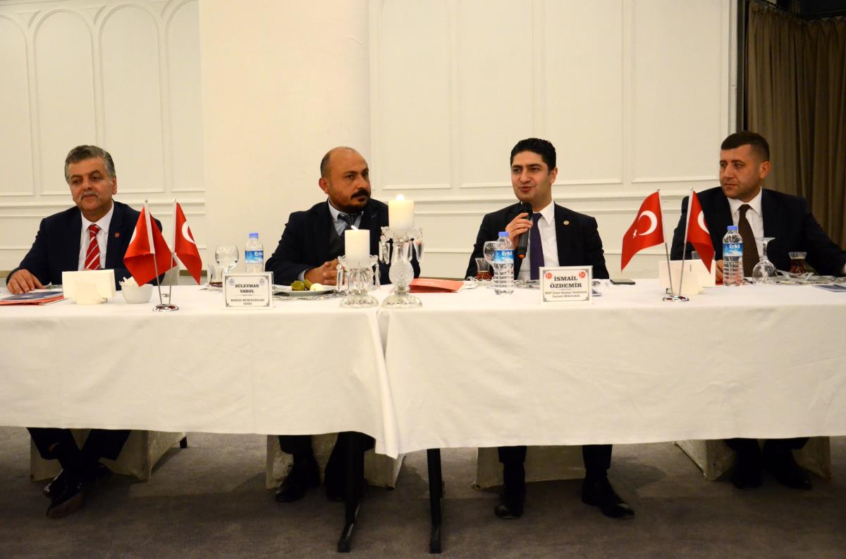 MHP heyeti, Akademik Odalar Birliği toplantısına katıldı