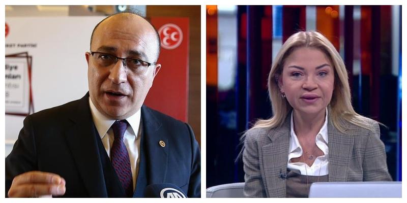 MHP'li Yönter'den Gazeteci Ebru Baki'ye Ağır İfadeler: 'Tam Bir Kokuşmuşluk'