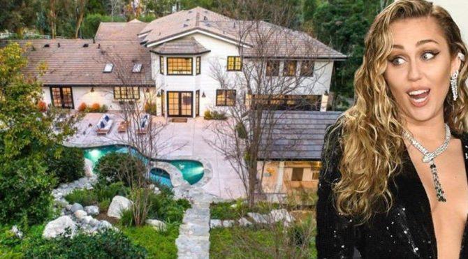 Miley Cyrus, 4.5 milyon dolara 1950'lerden kalma bir malikane satın aldı