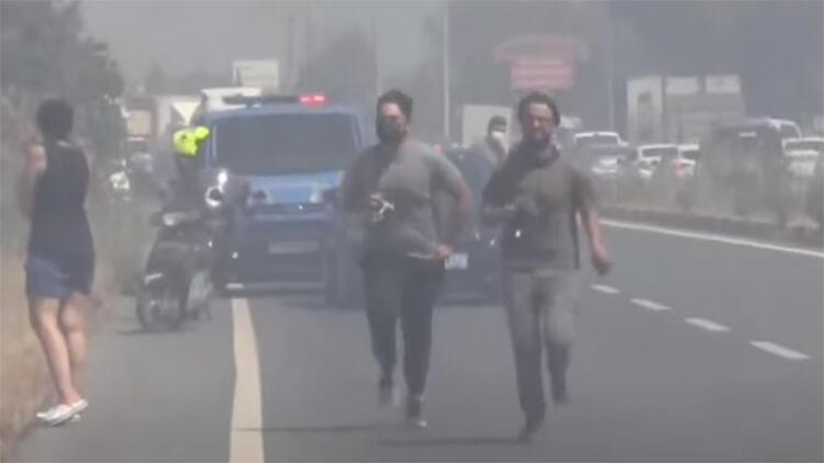 Muğla'da Orman Yangını! Karayolu Ulaşıma Kapatıldı, Vatandaşlar Tahliye Ediliyor