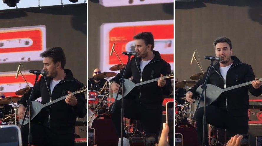 Mustafa Ceceli, Balık Gölü Festivali'nde Kürtçe Şarkı Söyledi