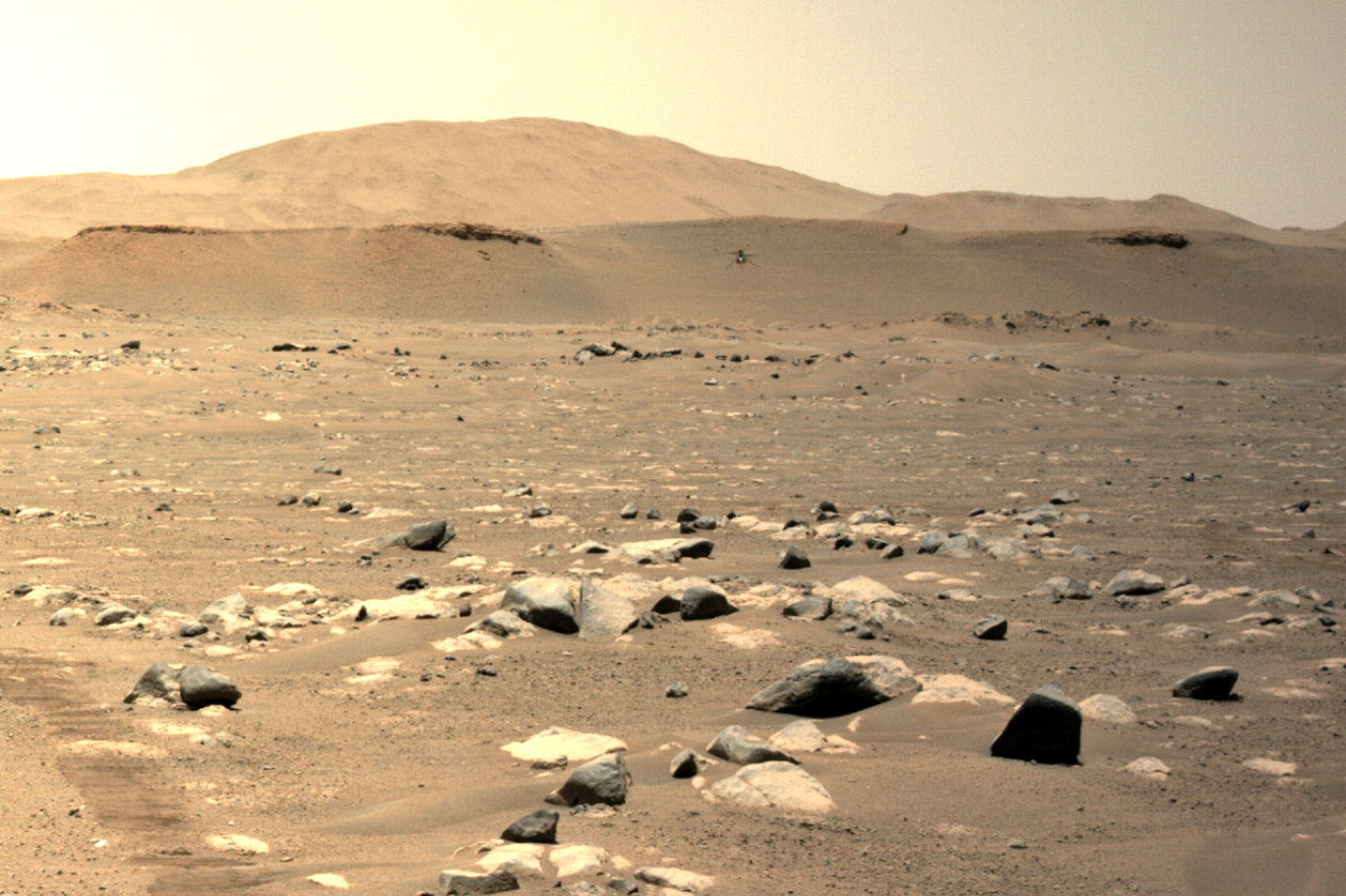 NASA'dan Çarpıcı Görüntüler: Mars Helikopteri En Hızlı Uçuşunu Yaptı