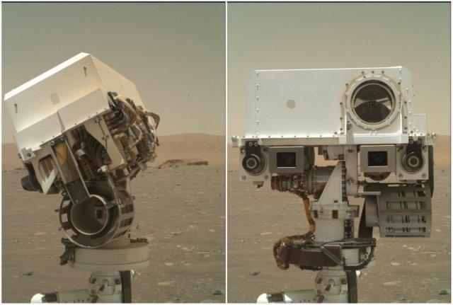 NASA'dan Yeni Fotoğraf Geldi: Perseverance Dünyaya Selfie Gönderdi