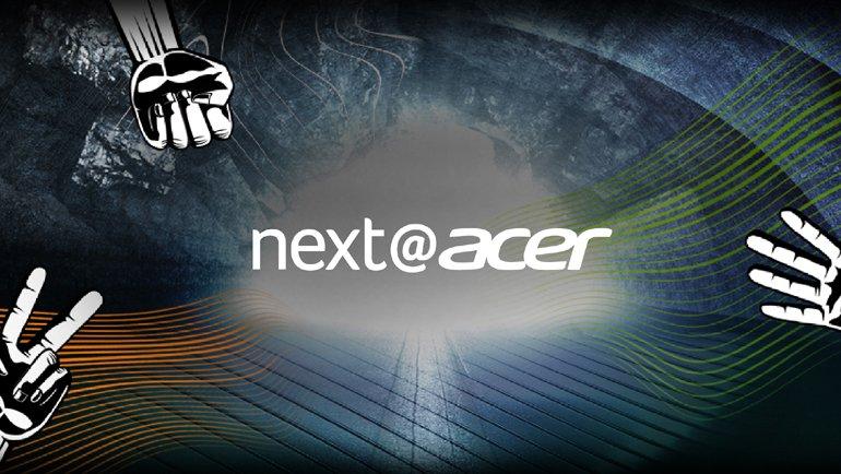 next@acer başladı! Canlı izleyin!