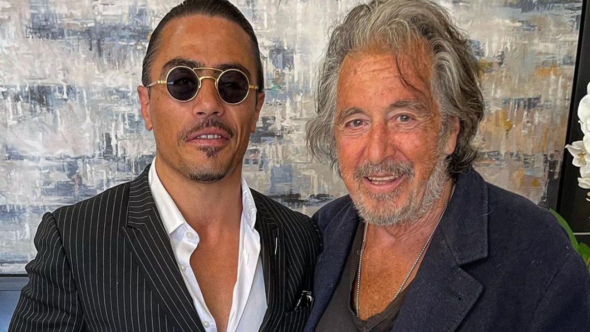 Nusret Gökçe'den Al Pacino ile poz