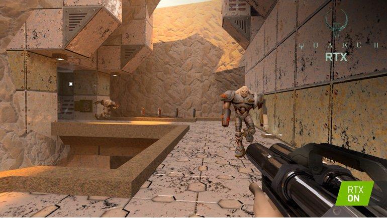 NVIDIA'dan RTX'li Quake II!