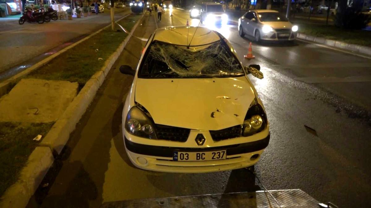 Otomobilin çarptığı bisikletli genç ağır yaralandı