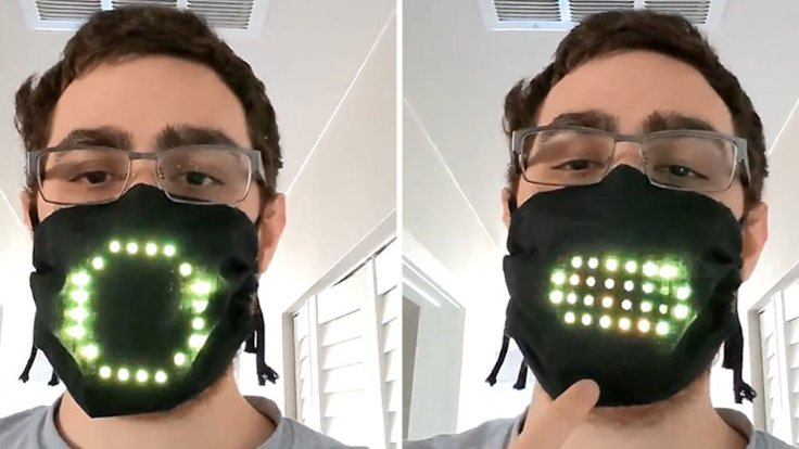 Oyun Tasarımcısı Sese Sağduyu LED Işıklı Maske Yaptı
