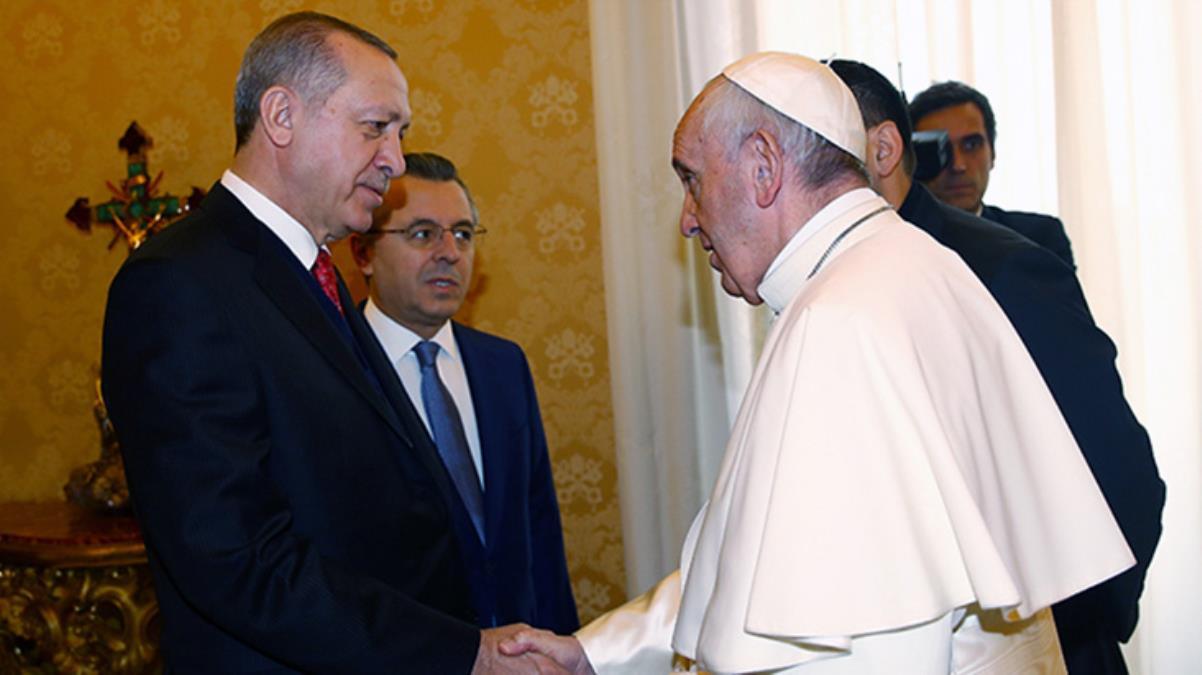 Papa'dan Cumhurbaşkanı Erdoğan'a mesaj: Size ve Türk halkına gani bereketler niyaz ediyorum