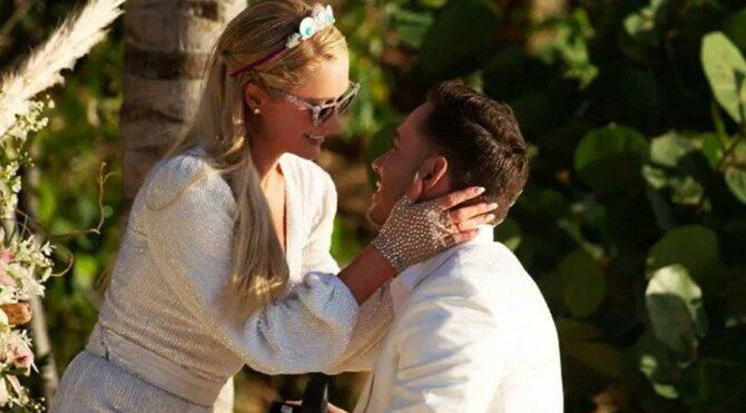 Paris Hilton, sevgilisi Carter Reum ile nişanlandı