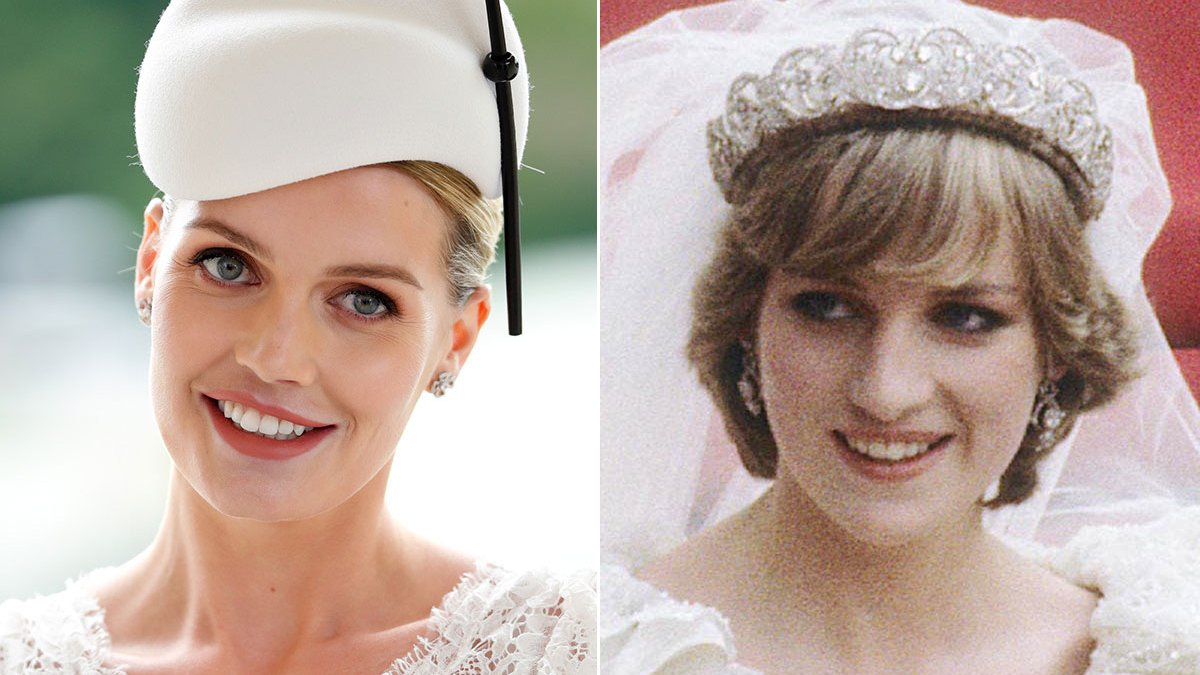 Prenses Diana'nın yeğeni Kitty Spencer evlendi