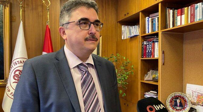 Prof. Dr. Tükek Brezilya varyantı Covid-19 taşıyan vaka ile ilgili açıklamalarda bulundu