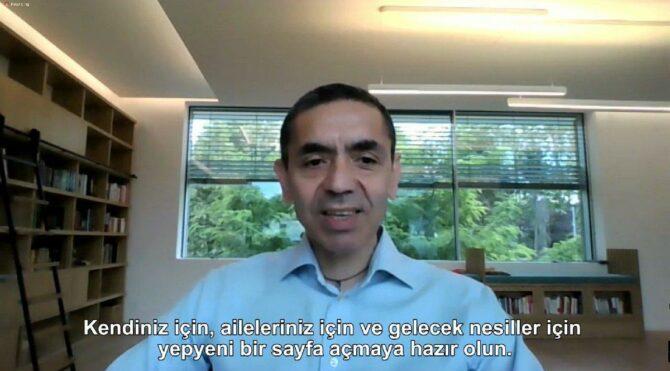 Prof. Dr. Uğur Şahin: Normal hayatlarımıza döneceğimizden eminim