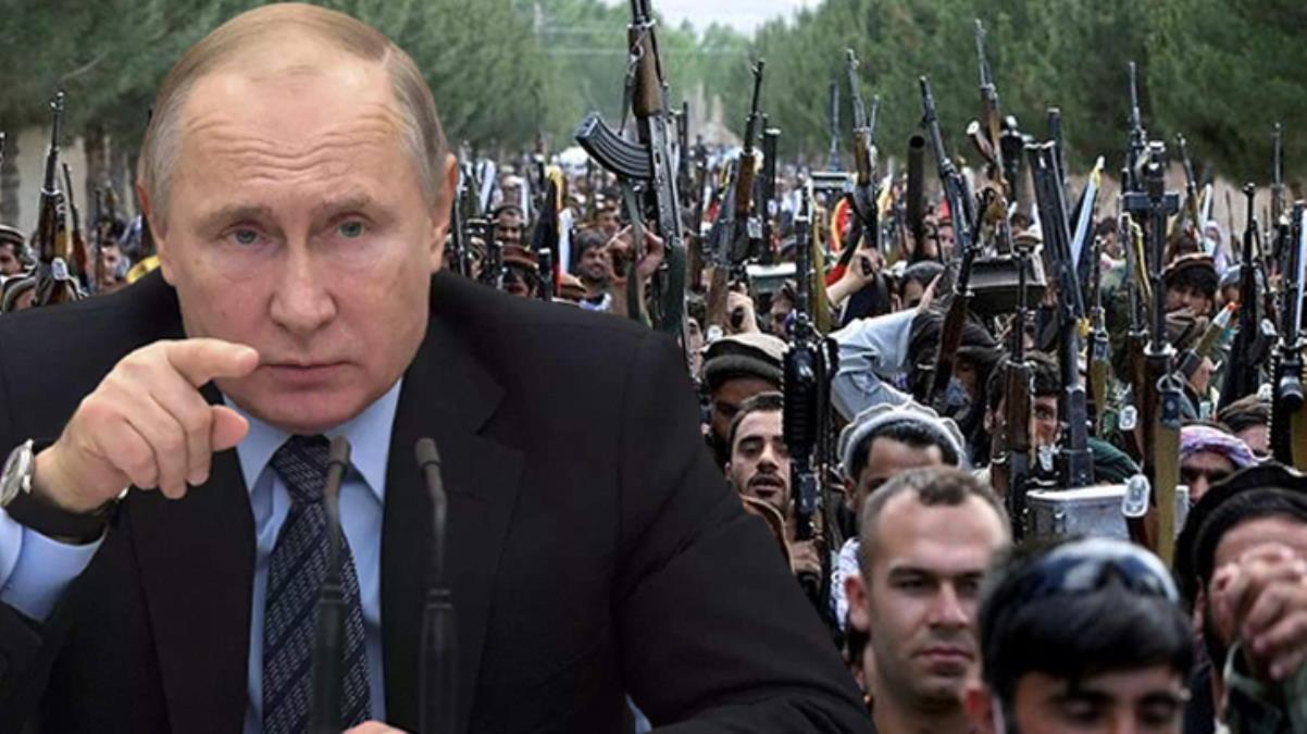 Putin'den dikkat çeken Taliban açıklaması: ABD, ülkeden ayrılırken modern silahların yer aldığı çok geniş bir cephaneliği bıraktı
