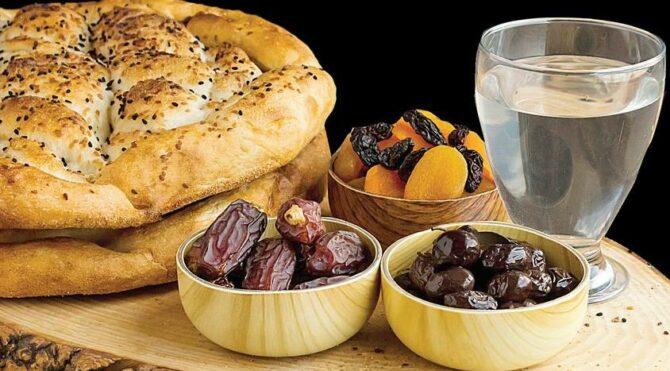 Ramazanı kilo almadan geçirin