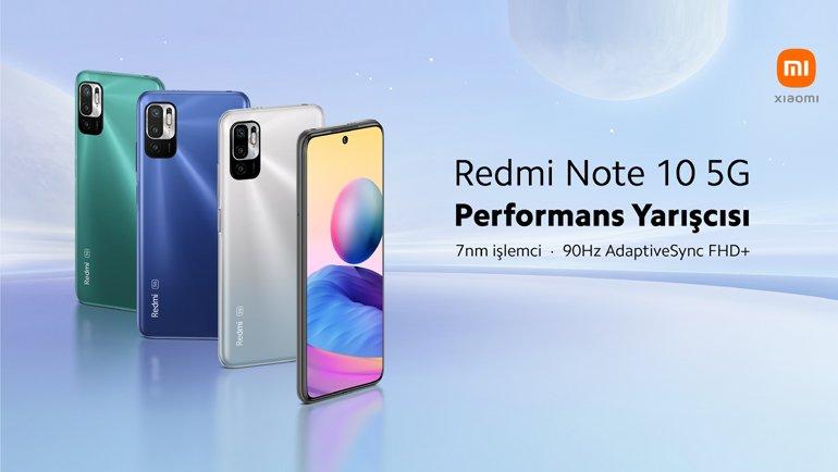 Redmi Note 10 5G satışta