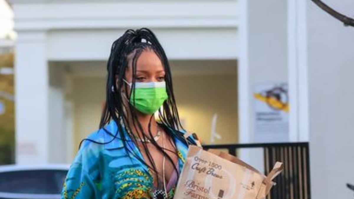 Rihanna'nın sokak tarzı