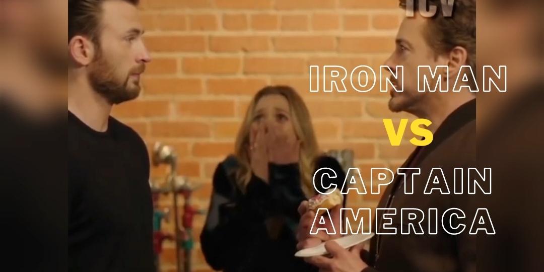 Robert Downey Jr. ve Chris Evans Son Kalan Donut Yüzünden Tartışır mı?