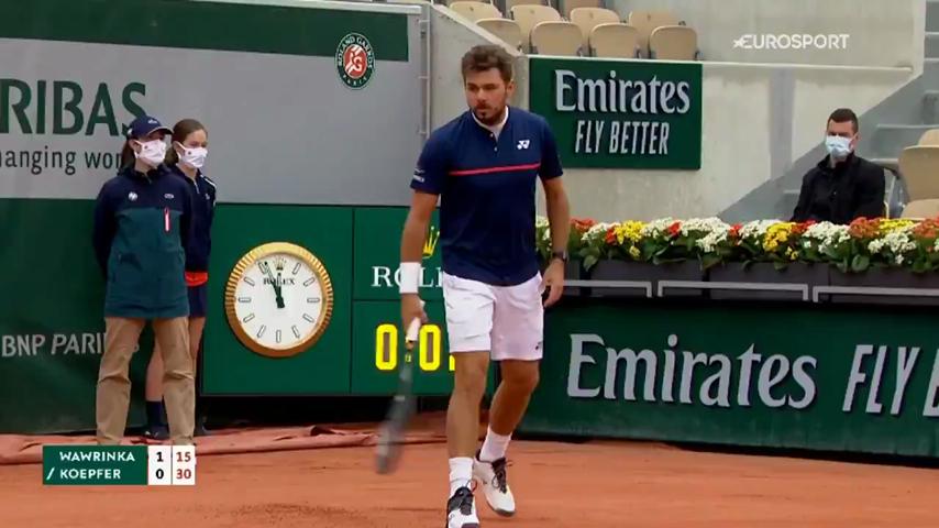 Roland Garros Sırasında Savaş Jetinin Çıkardığı Sonik Patlama Sesi Kısa Süreli Tedirginliğe Neden Oldu