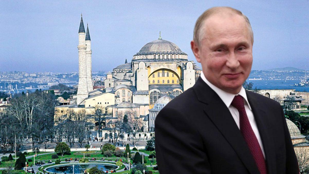 Rusya, Ayasofya'nın ibadete açılmasından memnun: Turistlerimiz kazançlı çıkacak