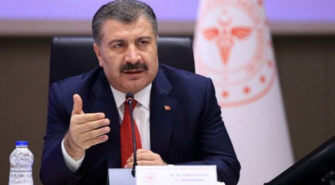 Sağlık Bakanı Fahrettin Koca: Aşı sayısı arttıkça hayatımızdaki soru işaretleri azalacak