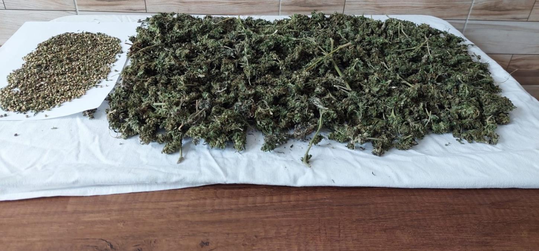 Sakarya'da uyuşturucu operasyonunda 1,5 kilogram kubar esrar ele geçirildi