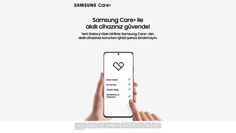 Samsung Care+ Türkiye'de!