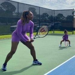 Serena Williams'ın 2 yaşındaki kızı takım sahibi oldu