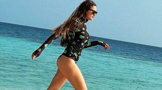Serenay Sarıkaya Maldivler'de: Acılara yürüyor korkmuyorum