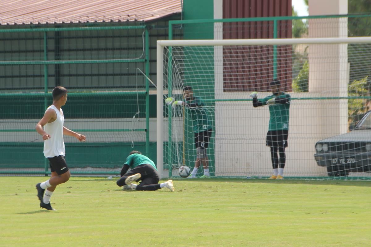 Serik Belediyespor, Çorum maçı hazırlıklarını tamamladı