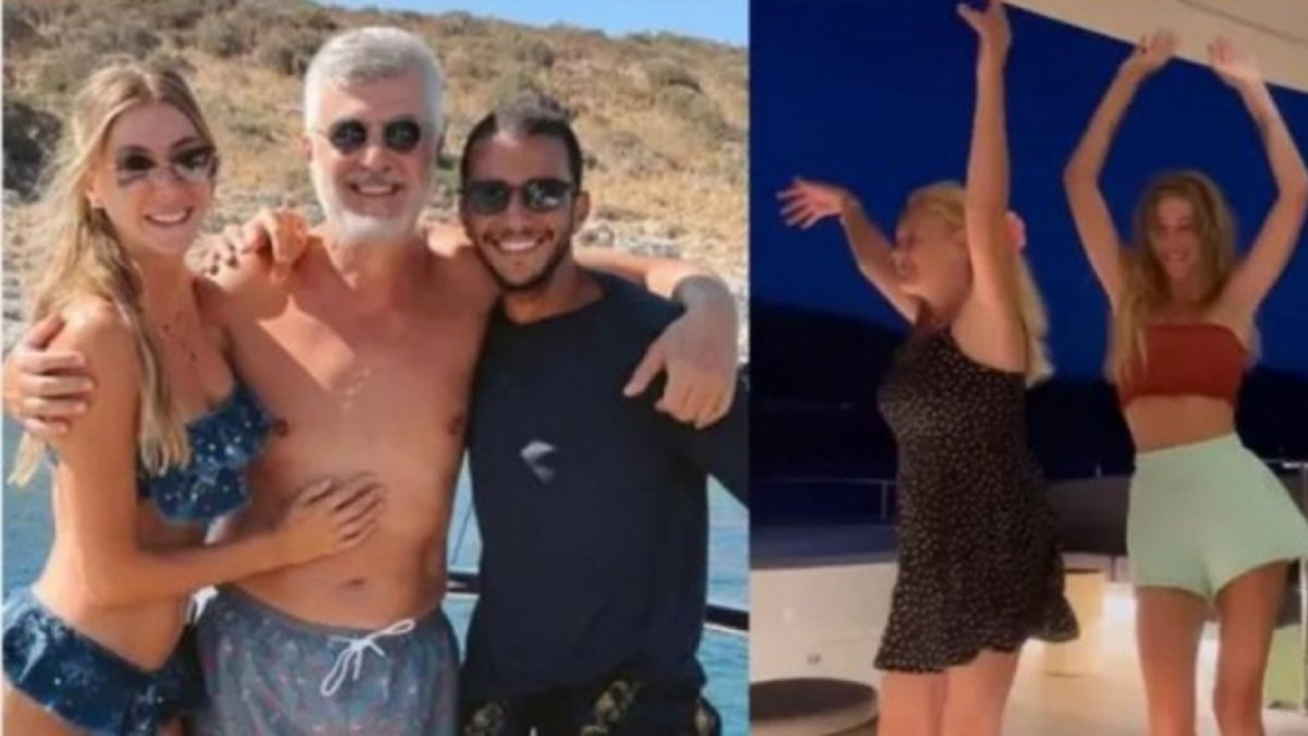 Şeyma Subaşı, ailesi ve Mısırlı sevgilisiyle tatilde