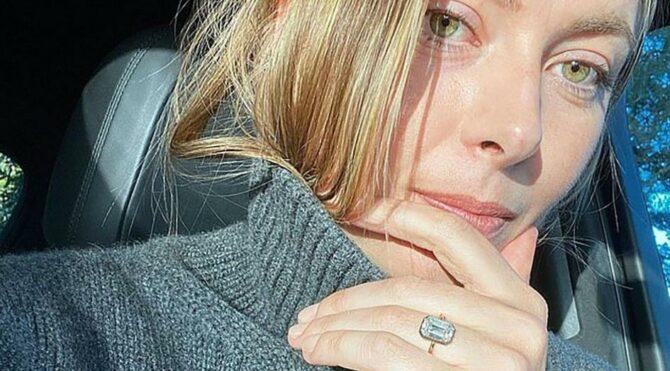 Sharapova'ya servet değerinde nişan yüzüğü: Fiyatı 3 milyon TL