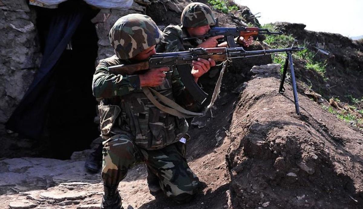 Sınırda provakasyon! Ermeni askerler, Azerbaycan topraklarına girdi