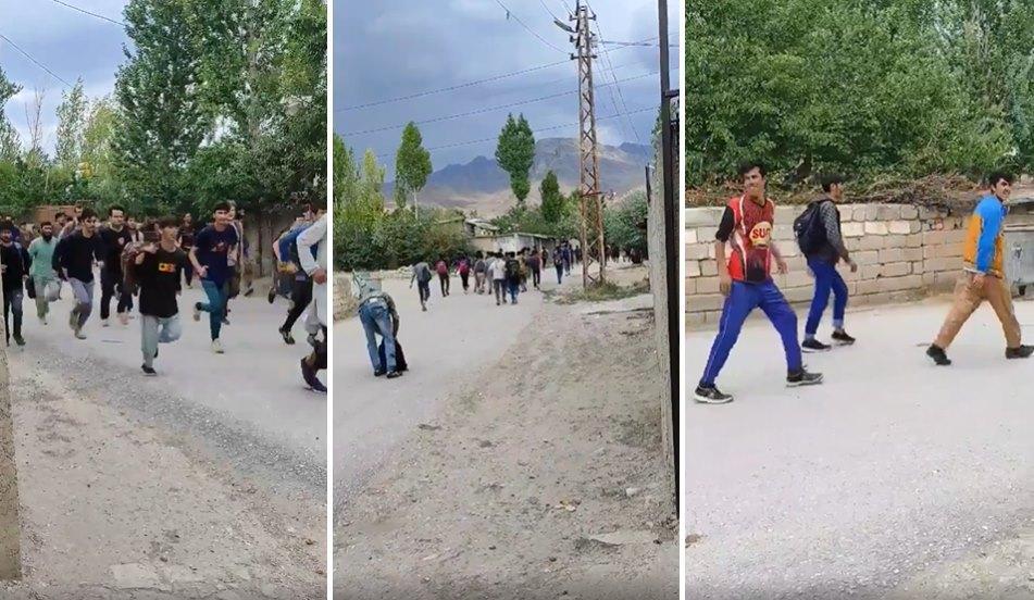 Sınırdan Geçen Yüzlerce Afgan Mültecinin Van'da Mahalle Aralarında Koşarken Kaydedilen Görüntüleri