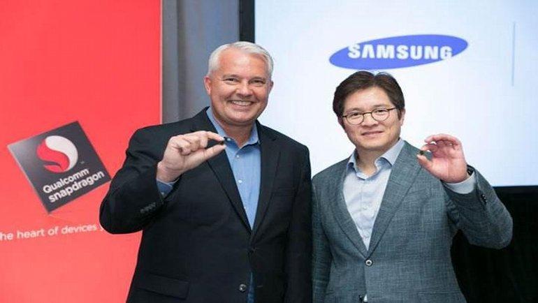 Snapdragon 895'e Samsung imzası