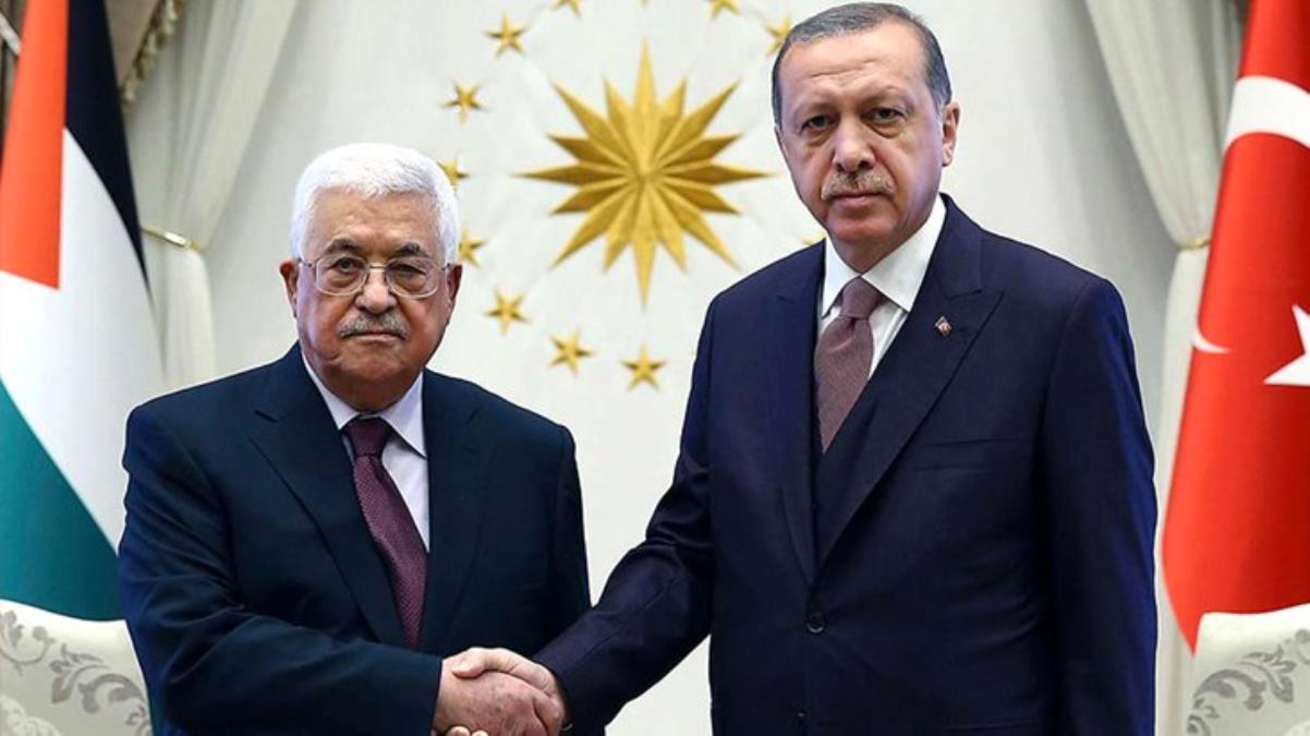 Son Dakika! Cumhurbaşkanı Erdoğan, Mescid-i Aksa'daki olaylar sonrasında Filistin Devlet Başkanı Mahmud Abbas ile görüştü