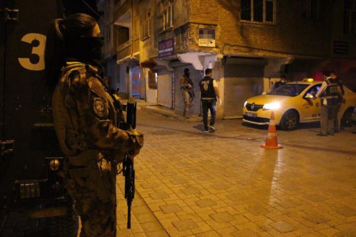 Son dakika haber! 'Narko Alan Diyarbakır' projesi 1200 polisle gece de sürdü