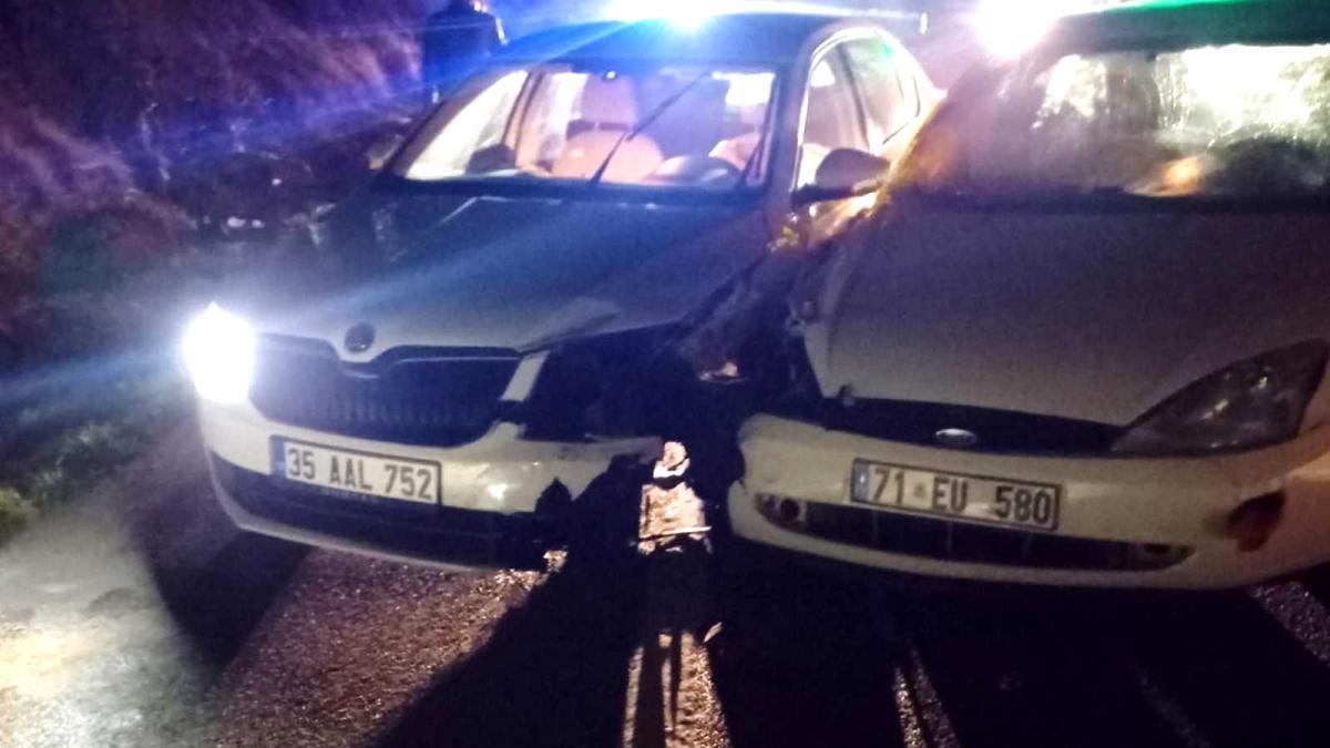 Son dakika haberi | Kırıkkale'de trafik kazası: 2'si ağır 5 yaralı