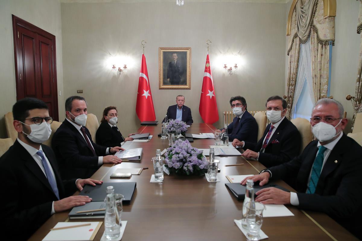 Son dakika haberleri! Türkiye Varlık Fonu Yönetim Kurulu Toplantısı, Cumhurbaşkanı Erdoğan'ın başkanlığında gerçekleştirildi