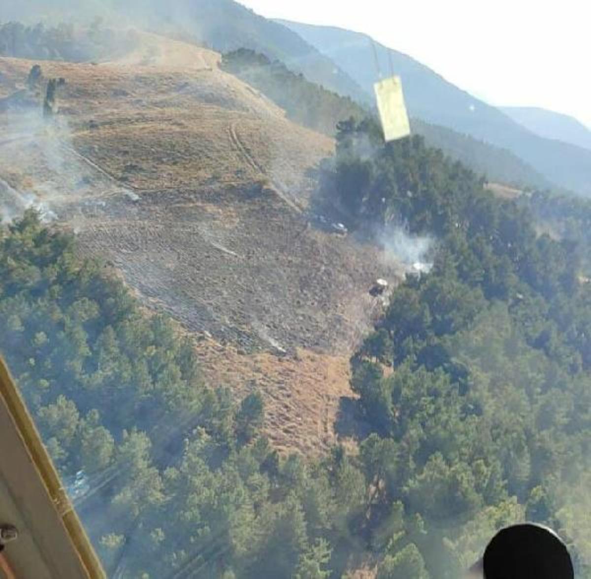 Son dakika... İzmir'de otluktaki yangın ormana sıçradı (2)