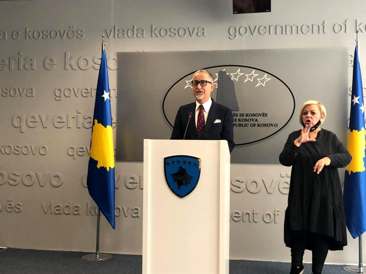 Son dakika: Kosova Sağlık Bakanı Vitia istifa etti