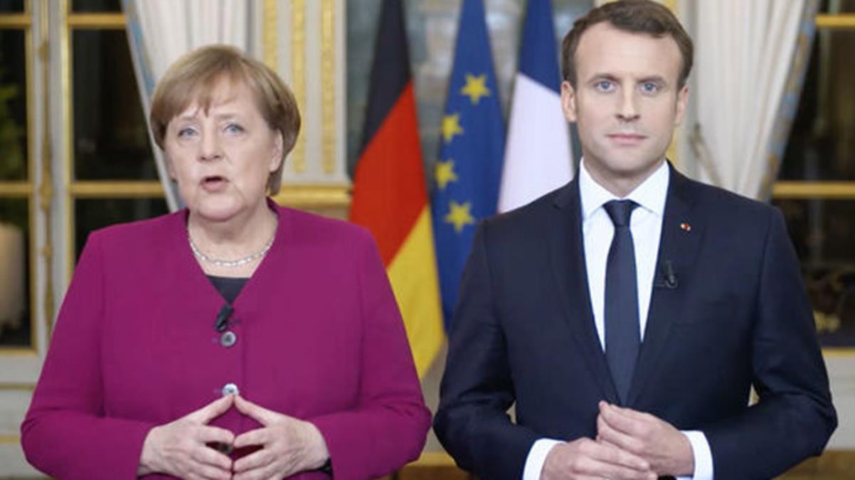Son Dakika: Yaptırım uygulanacak mı? AB Zirvesi sonrası Merkel ve Macron'dan Türkiye açıklaması