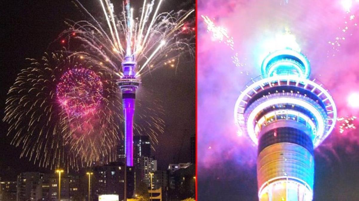 Son Dakika! Yeni Zelanda 2021 yılına 'merhaba' dedi