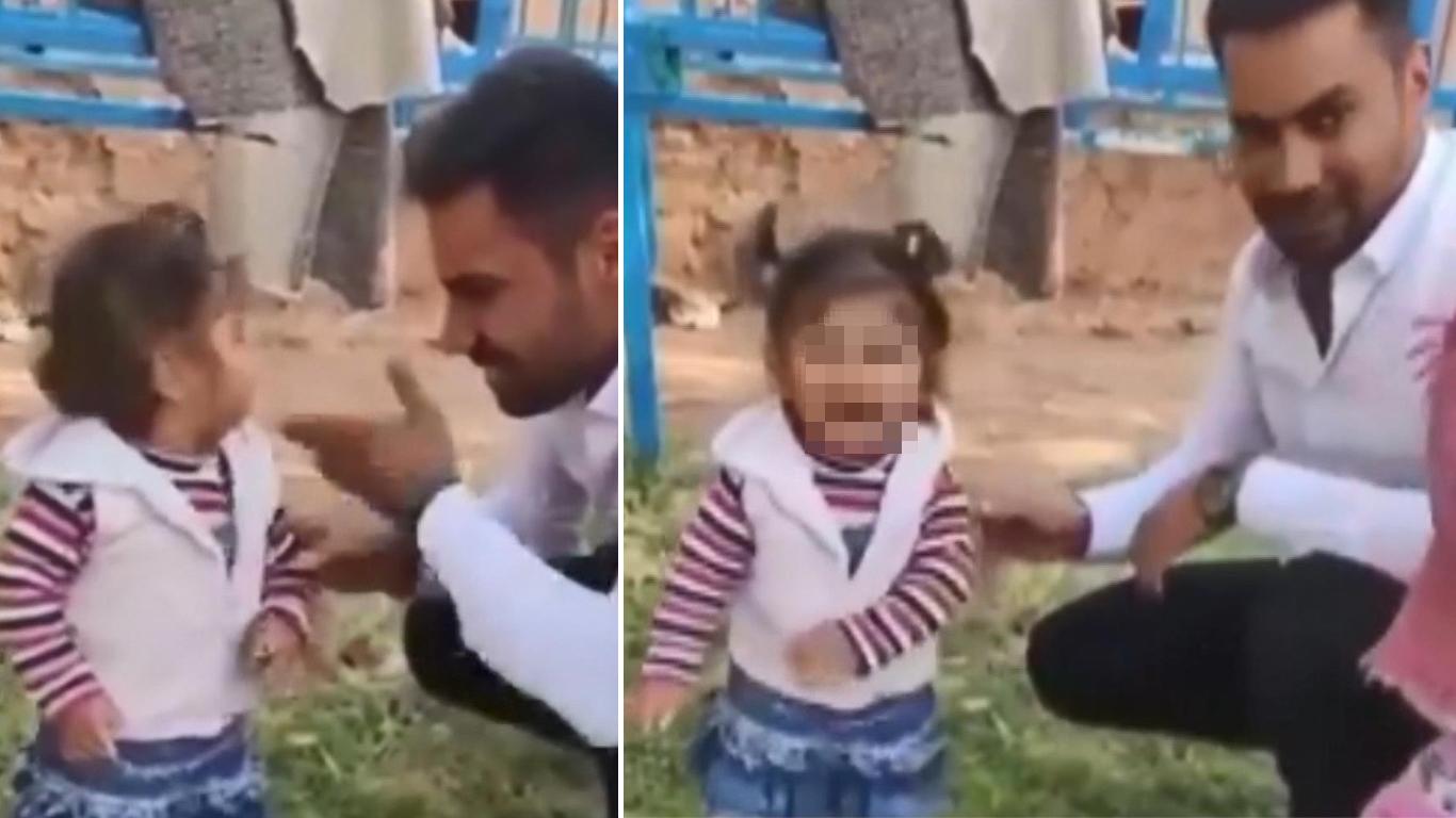 Sosyal Medyada Tepki Yağmıştı... Küçük Çocuğa Dayak Görüntülerine Savunma: 'Severek Vurdum, Sıkıntı Yok'
